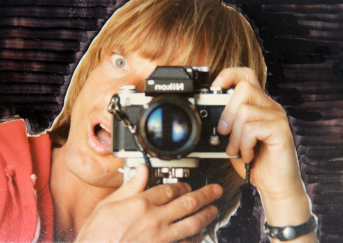 Peter Berlin, Self Portrait with Nikon Camera