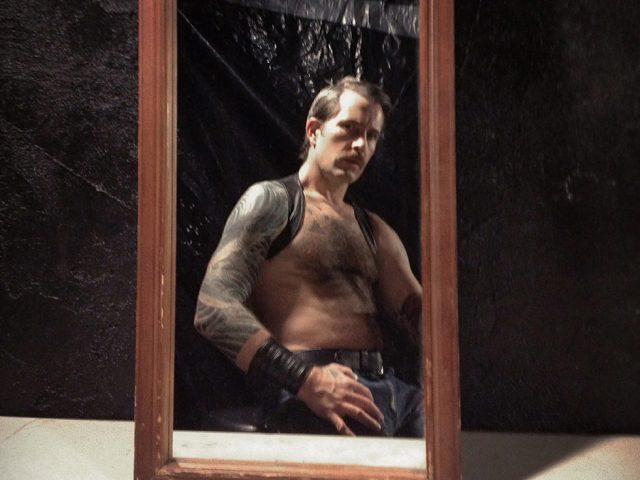 John Arsenault, Man in the Mirror (Self Portrait)