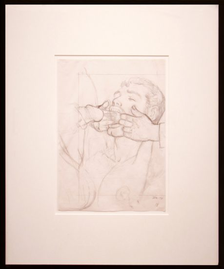 Tom of Finland, Untitled (Working Drawing)