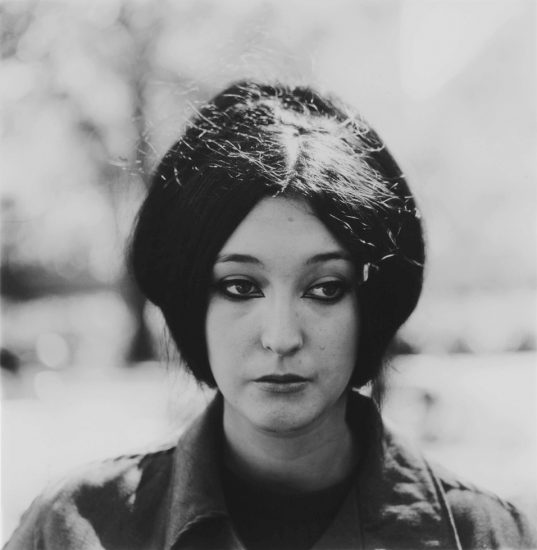 Diane Arbus, Woman with eyeliner, NYC