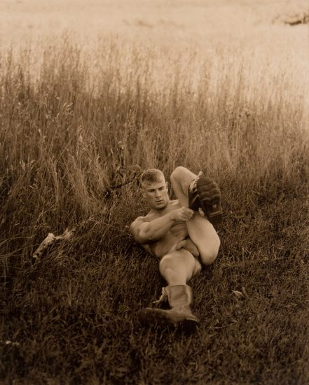 Walter Briski, Jr., Untitled (Daniel in Field)