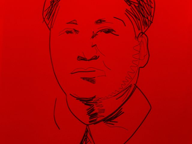 Vik Muniz, Study for Mao