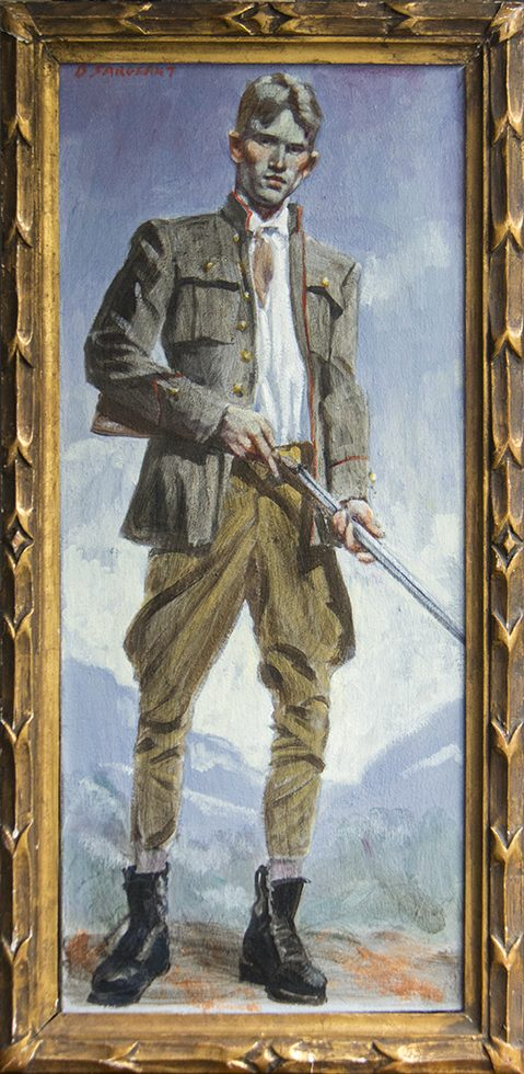 [Bruce Sargeant (1898-1938)] Young Hunter (Man with Gun)