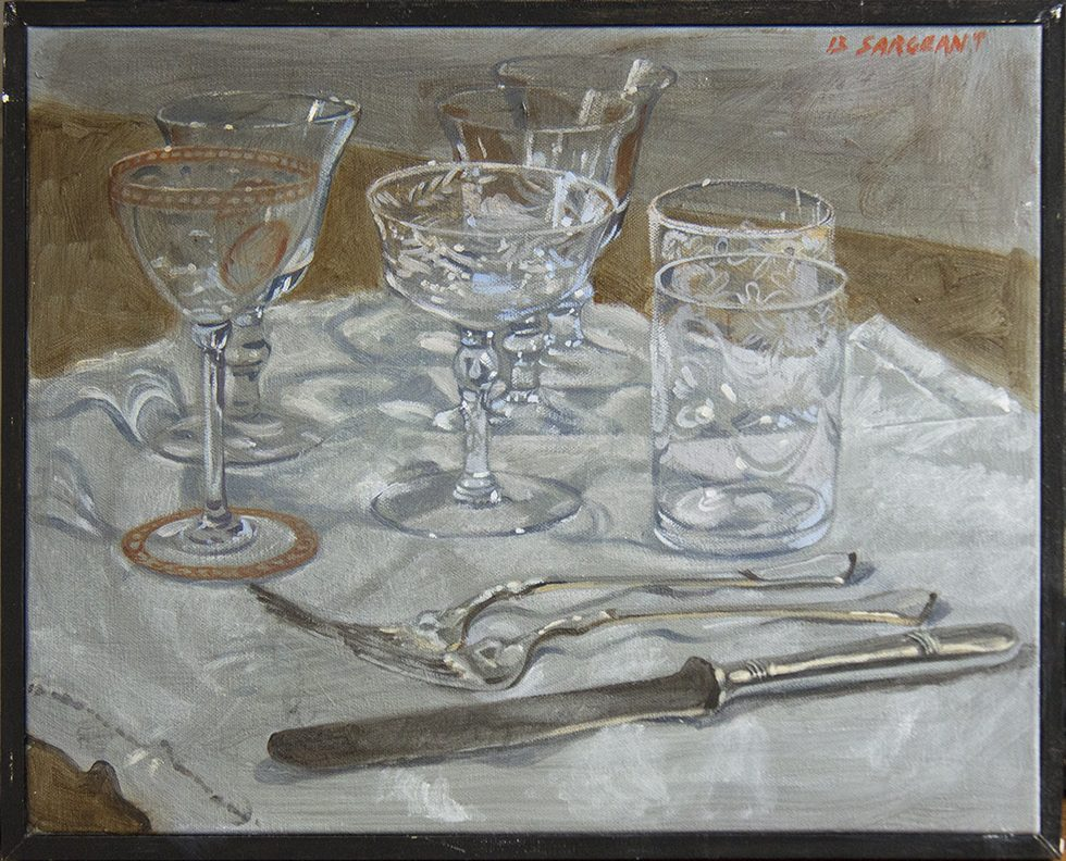 [Bruce Sargeant (1898-1938)] Still Life with Crystal