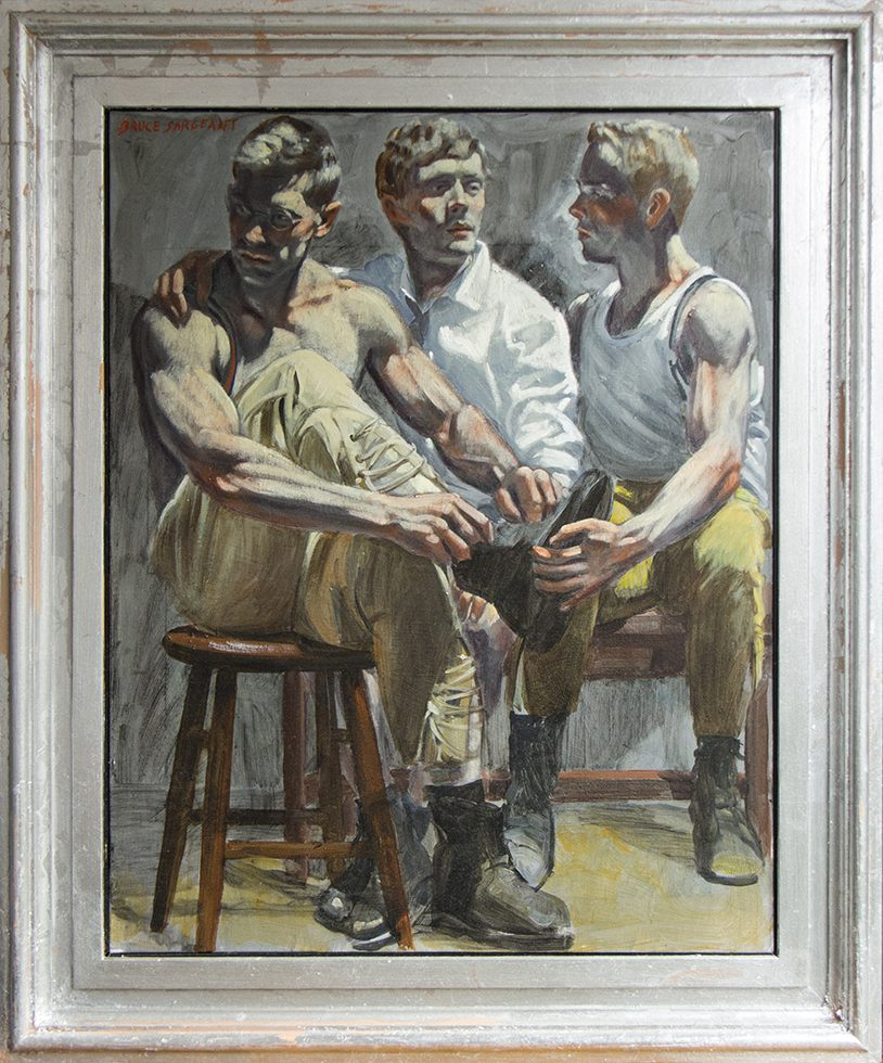 Mark Beard, [Bruce Sargeant] Three Friends