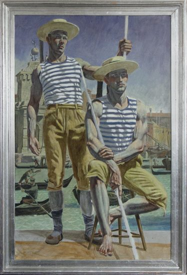 Mark Beard, [Bruce Sargeant] Two Gondoliers