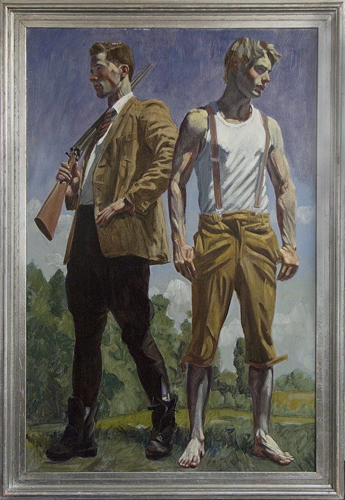 Mark Beard, [Bruce Sargeant] Two Men in the Country