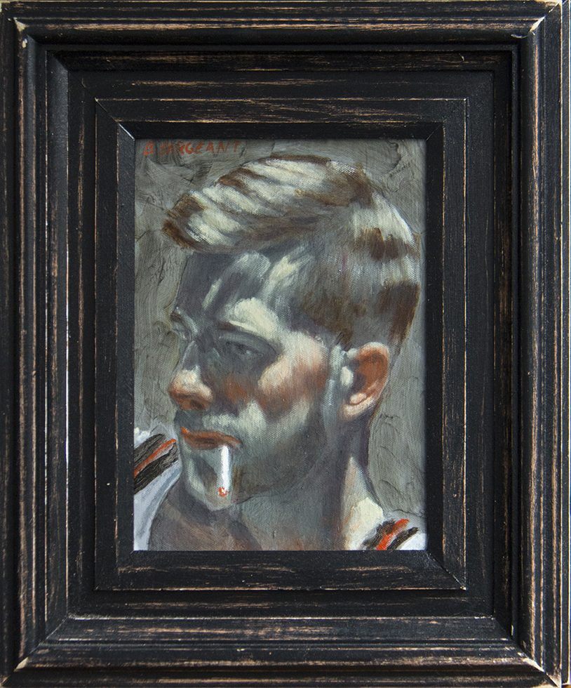 Mark Beard, [Bruce Sargeant] Young Man Smoking