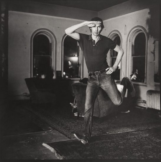 Peter Hujar, Self Portrait Jumping (I)