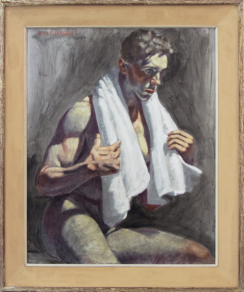 [Bruce Sargeant (1898-1938)] Joe in Towel