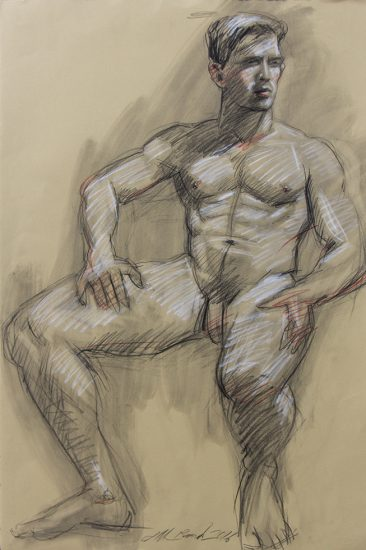 Mark Beard, Man Drawing