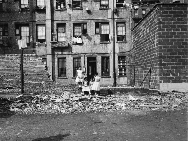 Arthur King, Four Girls in a Vacant Lot