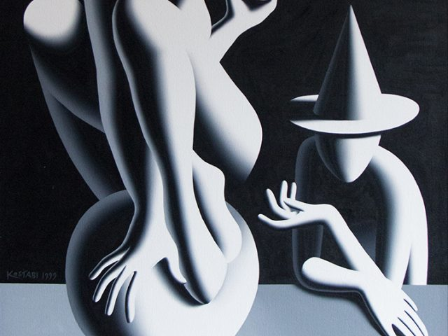 Mark Kostabi, The Sphere of Reason