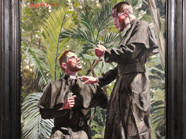 Mark Beard, [Bruce Sargeant (1898-1938)] Salvation in the Tropics, Recto