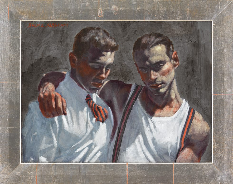 [Bruce Sargeant (1898-1938)] Two Friends