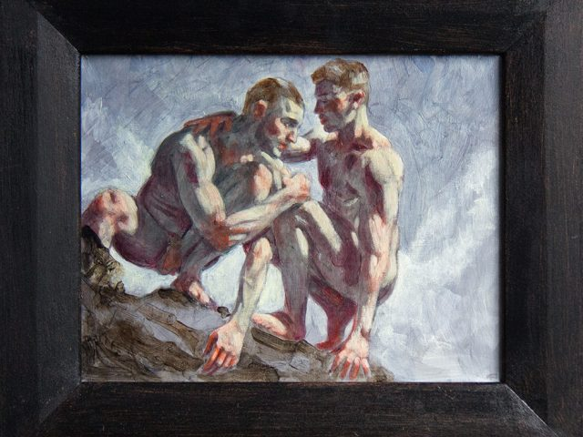 Mark Beard, Bruce Sargeant, Two Men on a Rock