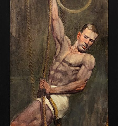 Mark Beard, [Bruce Sargeant (1898-1938)] Man with Ropes and Rings
