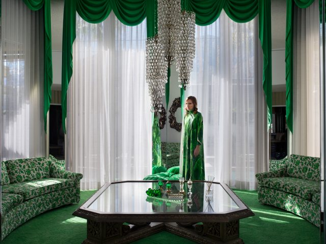 Lissa Rivera, Emerald Living Room