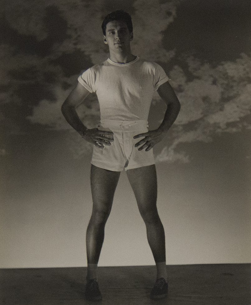Standing Man in White T-shirt and Shorts (Jack Fontan)