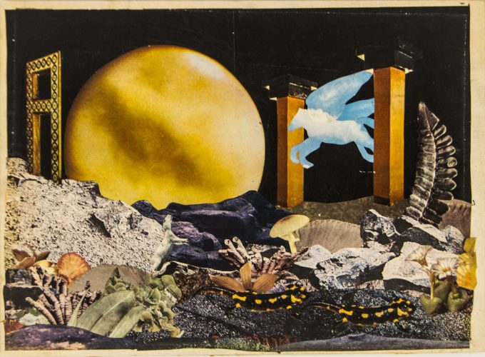 Kenny Burgess, Timeless Full Moon, Collage