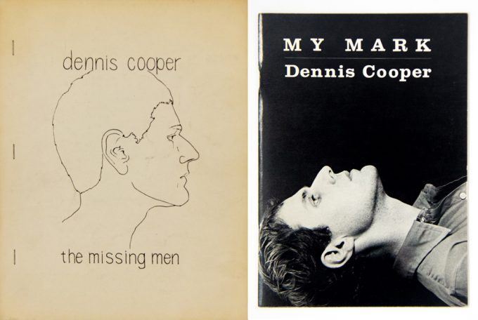Dennis Cooper, The Missing Men, My Mark
