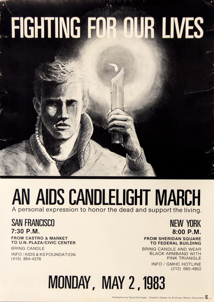 An AIDS Candlelight March