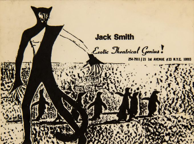 Jack Smith, Business Card