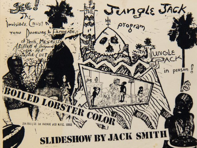 Jack Smith, Slideshow, Flyer