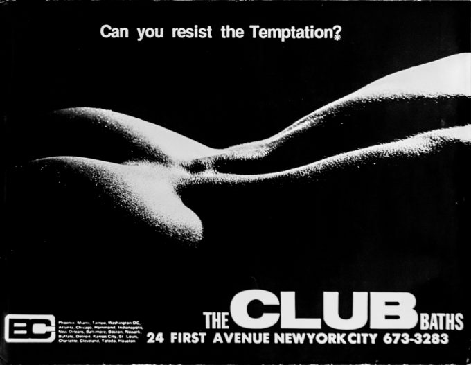 Club Baths, Advertising Poster