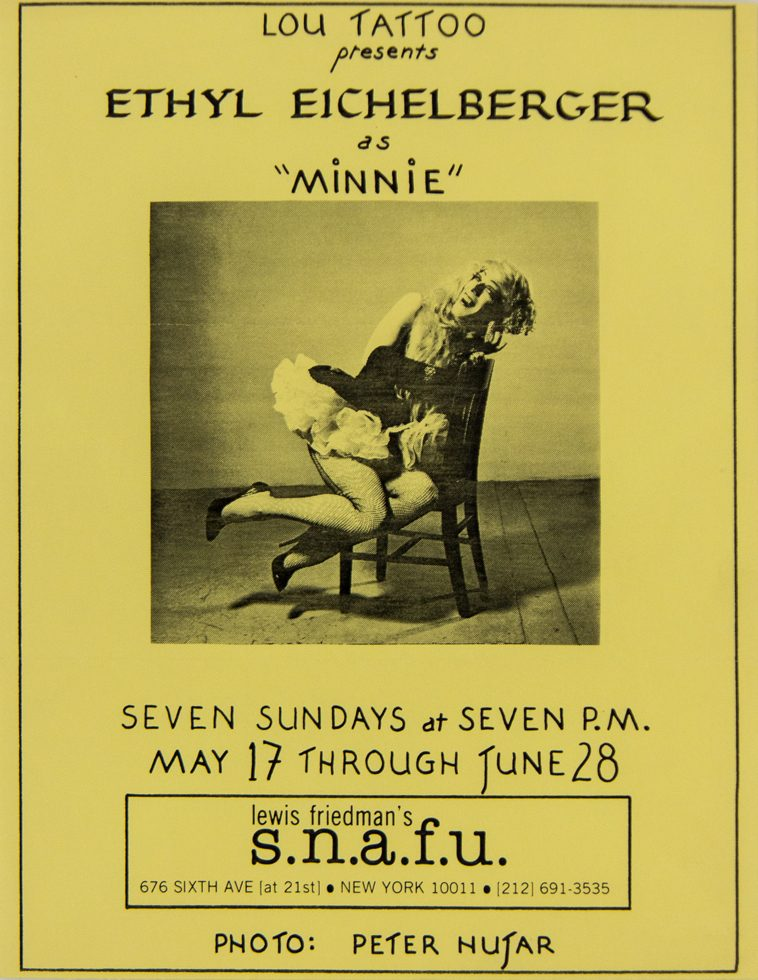 s.n.a.f.u. (Ethyl Eichelberger as Minnie the Maid)