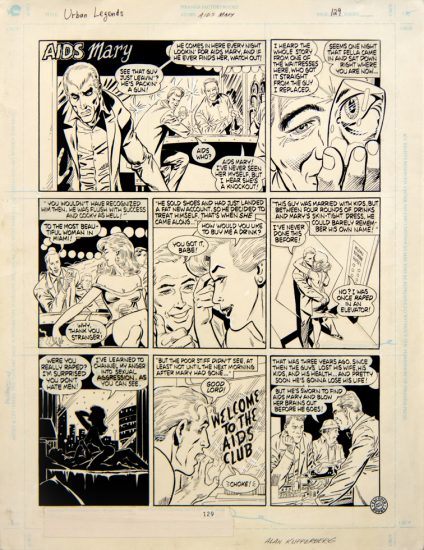 Alan Kupperberg, AIDS Mary