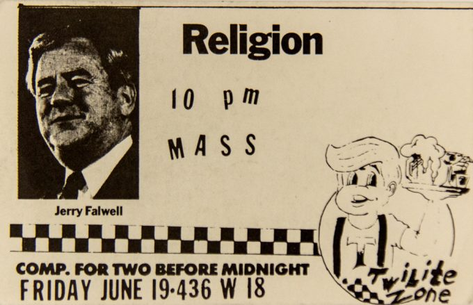 Twilight Zone, Religion, Jerry Falwell