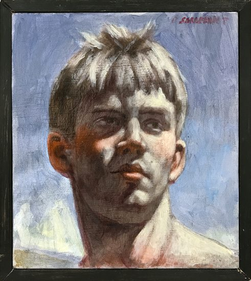 Mark beard, [Bruce Sargeant (1898-1938)] Justin Head Study