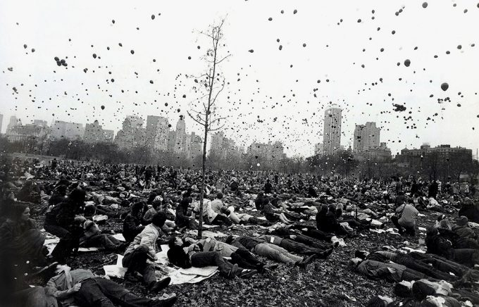 Garry Winogrand, Peace Demonstration, Central Park, New York
