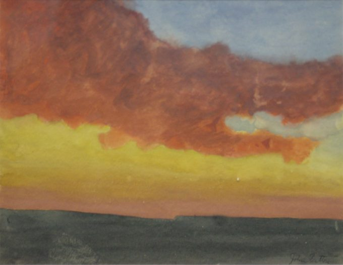 John Button, Sunset #1