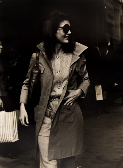 Ron Galella, Jackie Onassis, October 15, 1970