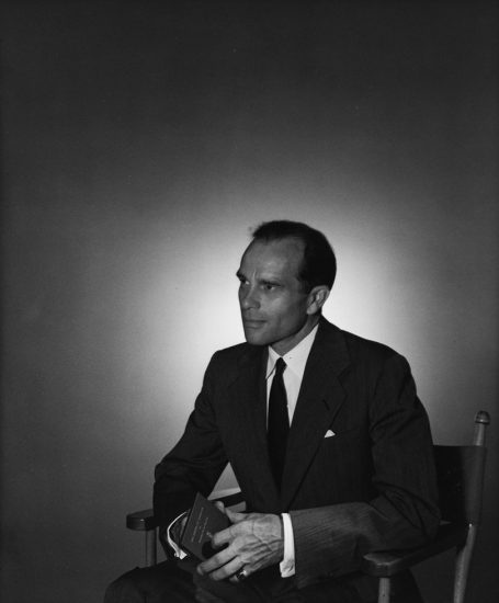 George Platt Lynes, Portrait of Monroe Wheeler