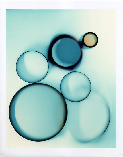 Brian Buckley, Circles in Aqua I