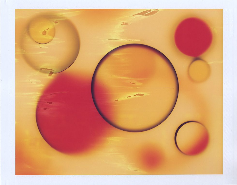 Orbit in Red and Yellow II