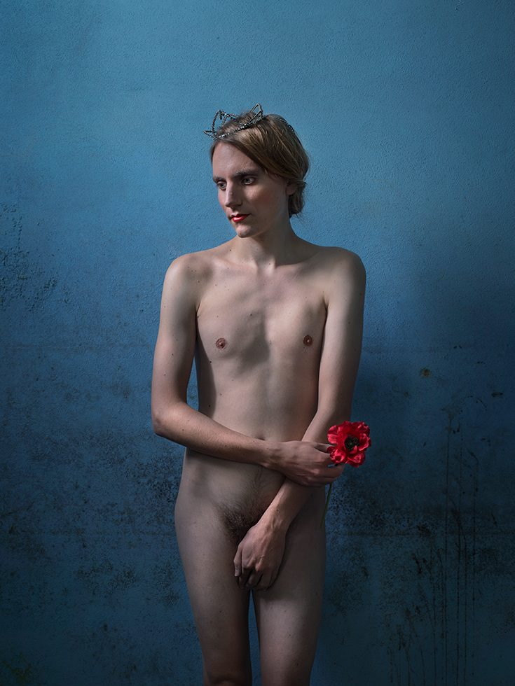 Nude with Poppy