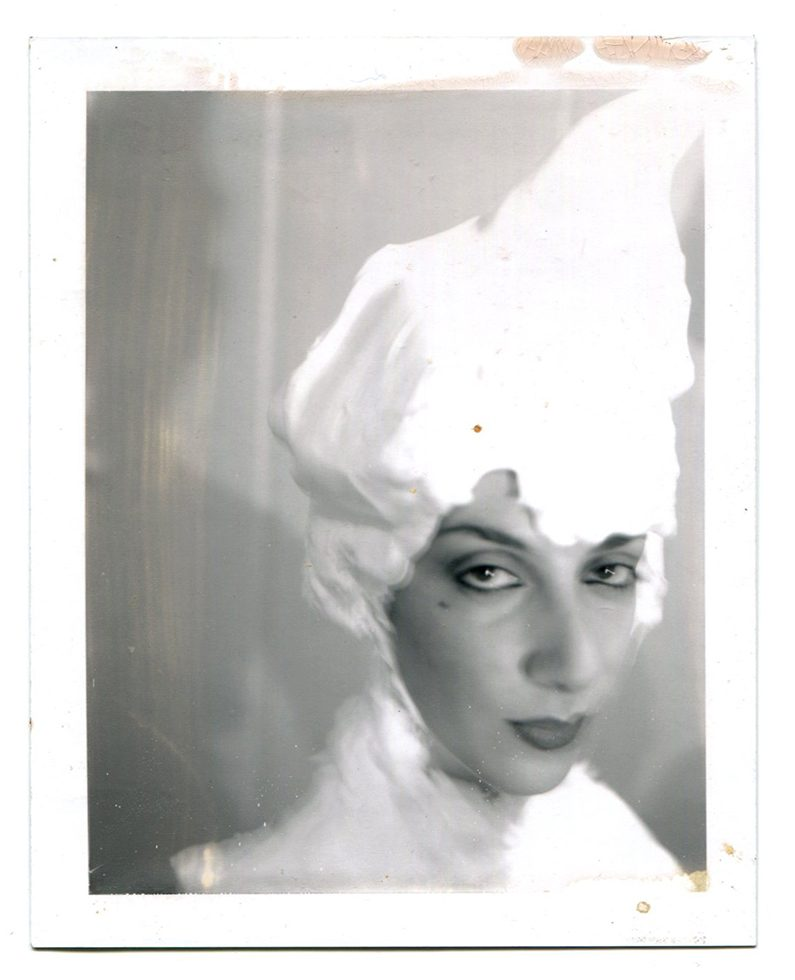 Untitled (Janet with Soap Wig)