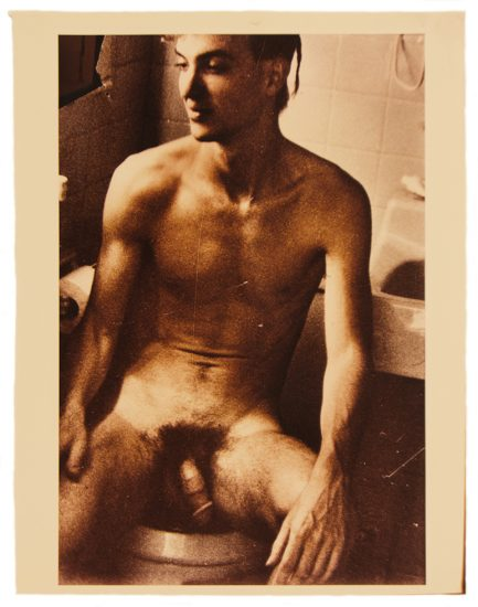 Mark Morrisroe Nude Young Man in Bathroom