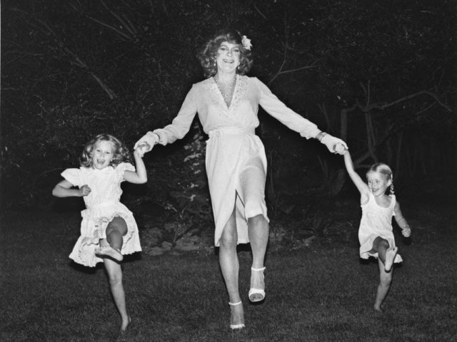 Mariette Pathy Allen, Vicky Doing the Cancan with Cori and Julia, L.I., NY