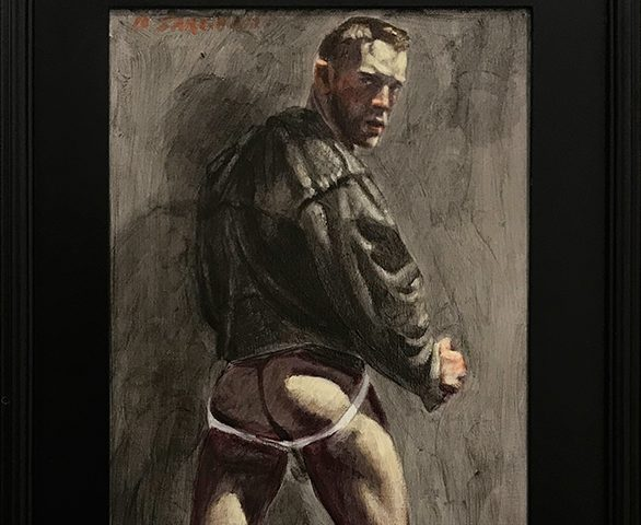 Mark Beard, [Bruce Sargeant (1898-1938)] Man Wearing Leather Jacket