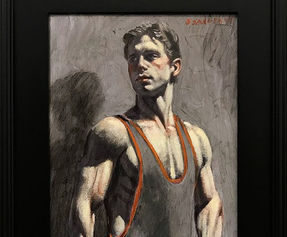 Beard, [Bruce Sargeant (1898-19380] Rob Mayes in Wrestling Togs