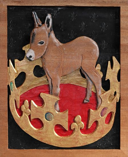 Philip Campbell, King Baby, Artwork, Artist, Donkey