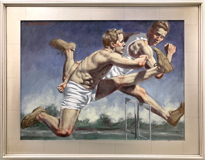 Mark Beard, Bruce Sargeant (1898-1938), Runners at the Track, 2018