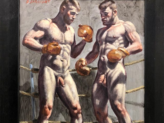 Mark Beard, Bruce Sargeant (1898-1938), Two Men in Boxing Gloves