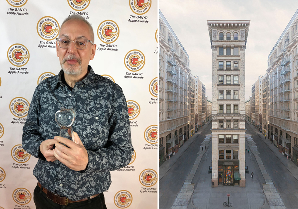 Marc Yankus wins GANYC Apple Award
