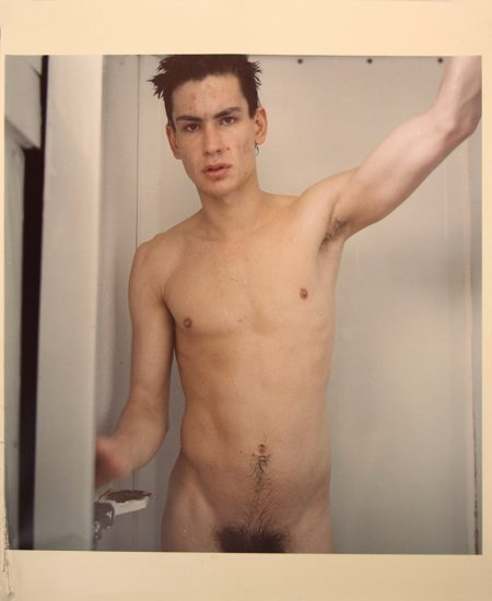 Mark Morrisroe, Untitled (Self Portrait Standing in the Shower)